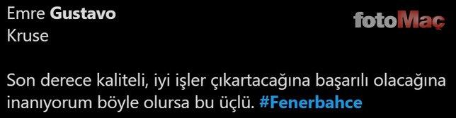 İşte Gustavo haberleri üzerine Fenerbahçeliler'in tepkileri