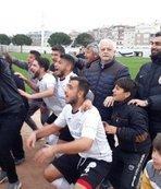 Burhaniye'de şampiyonluk sevinci