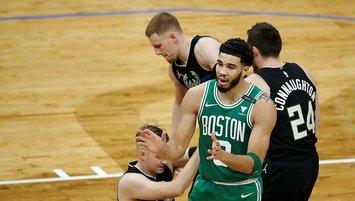 NBA'de Milwaukee Bucks'ın serisine Celtics son verdi