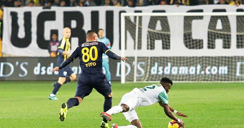 MKE Ankaragücü - Bursaspor maçından kareler