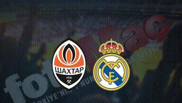 Shaktar Donetsk - Real Madrid maçı saat kaçta? Hangi kanalda?