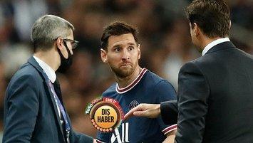 Ve Pochettino konuştu! Messi neden oyundan çıktı?