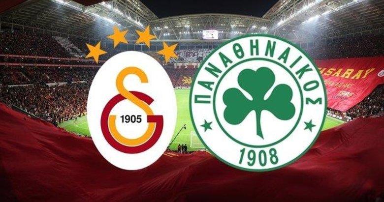 İşte Galatasaray'ın Panathinaikos karşısındaki 11'i