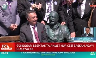 Canlı yayında açıkladı! Ahmet Nur Çebi aday olacak mı?