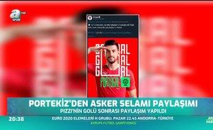 Portekiz'den asker selamı paylaşımı! UEFA ne yapacak?