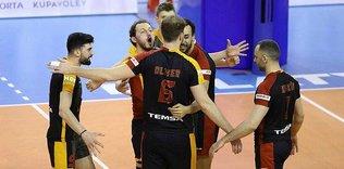 Galatasaray için voleybolda kupa zamanı