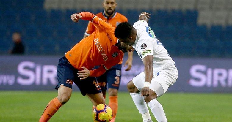 Başakşehir - Kasımpaşa maçından kareler