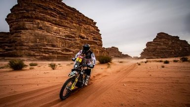 Dakar Rallisi'nde RedBull sporcuları zirvede yer aldı