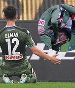 Eljif Elmas ilk golünü attı gözyaşlarını tutamadı