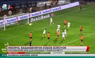 Medipol Başakşehir'de düşüş sürüyor