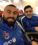 Trabzonspor kafilesi Sivas'a gitti