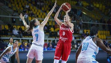 Slovenya-Türkiye: 72-47 (MAÇ SONUCU - ÖZET) FIBA 2021 Avrupa Kadınlar Basketbol Şampiyonası