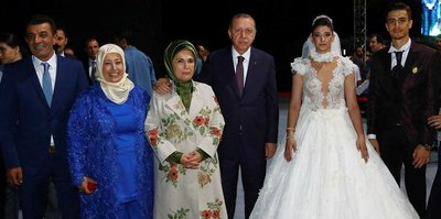 Cumhurbaşkanı Erdoğan, Dünya şampiyonunun düğününe katıldı