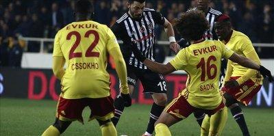 Besiktas continue to get draws in league