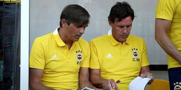 Fenerbahçe'de Cocu işi sıkı tutuyor