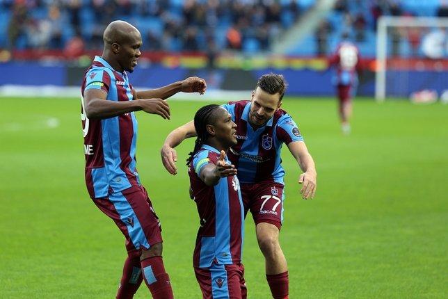 Trabzonspor - Ankaragücü maçından kareler