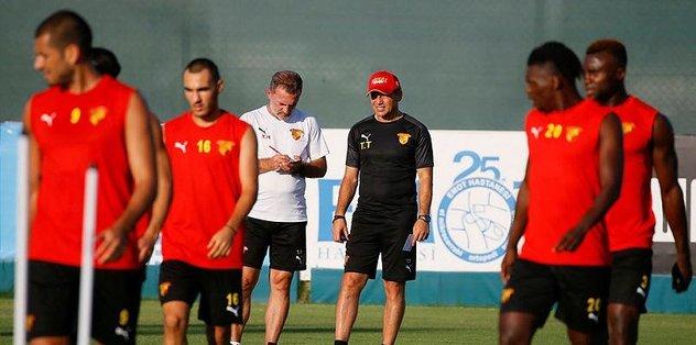 Göztepe'de Beşiktaş maçı hazırlıkları