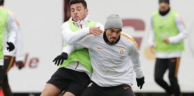 Galatasaray'da Trabzonspor maçı hazırlıkları
