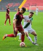 Gaziantepspor ile Denizlispor yenişemedi