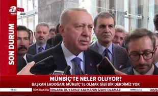 Başkan Recep Tayyip Erdoğan'dan 'asker selamı' açıklaması