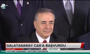 Galatasaray CAS'a başvurdu
