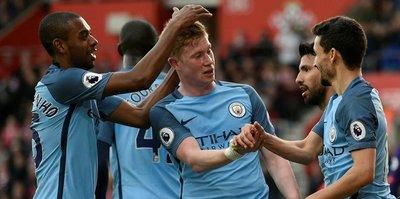 Manchester City ikinci yarı açıldı