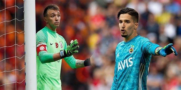 Fenerbahçe-Galatasaray derbisinde gözler kalecilerde olacak