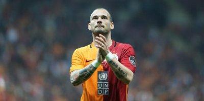 Sneijder'e tam destek
