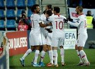 İşte Andorra-Türkiye maçından kareler!