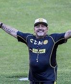 Maradona'dan 'uyuşturucu' yalanlaması!