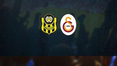 Yeni Malatyaspor - Galatasaray maçı CANLI