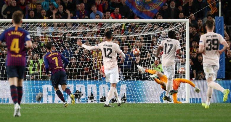 Barcelona 3-0 Manchester United (Maçtan kareler / 16 Nisan)
