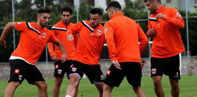 Adanaspor Altınordu maçı hazırlıklarına başladı