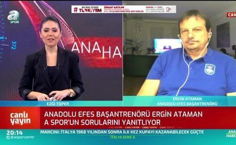 """Ergin Ataman tarih verdi! """"UEFA'nın yapacağı gibi..."""""""