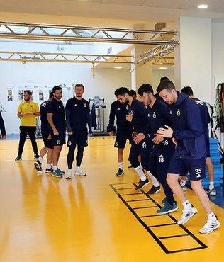 Fenerbahçe derbi hazırlıklarını sürdürdü