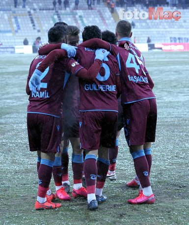 BB. Erzurum - Trabzonspor maçından kareler...