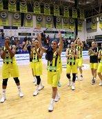 Fenerbahçeli kadın basketbolcular Letonya deplasmanında