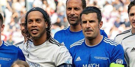 Figo, Ronaldinho'yu yendi