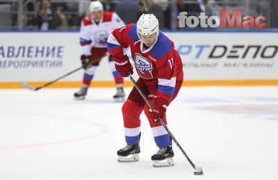 Putin hokey maçına çıktı (Maçtan fotoğraflar)