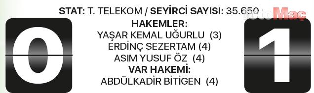 İşte Galatasaray-Medipol Başakşehir maçı sineması!