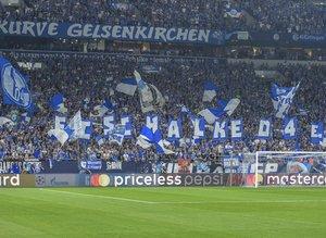 Schalke-Porto maçından görüntüler