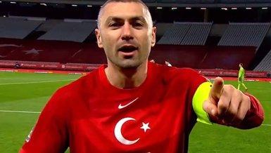 Türkiye Letonya maçında Burak Yılmaz ne dedi? İşte o sözler
