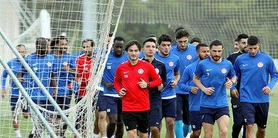 Antalyaspor, Alanyaspor maçı hazırlıklarına başladı