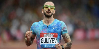 Ramil Guliyev, Berlin'de ikinci oldu