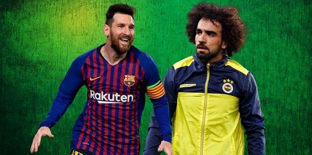 O görüntüler ortaya çıktı! Messi-Sadık Çiftpınar buluşması...