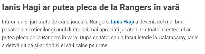 Son dakika transfer haberleri   Ianis Hagi'den Galatasaray itirafı!
