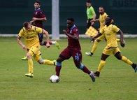 Trabzonspor - Verona maçından kareler...