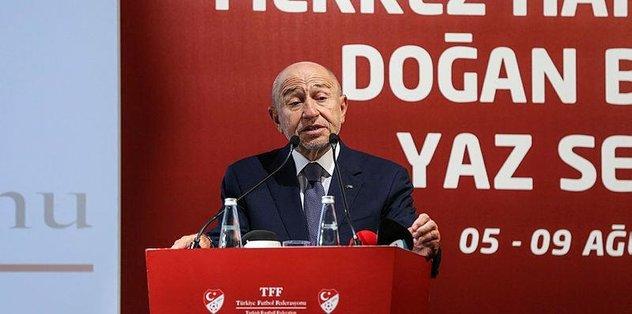 Nihat Özdemir UEFA Başkanı Ceferin ile bir araya geldi