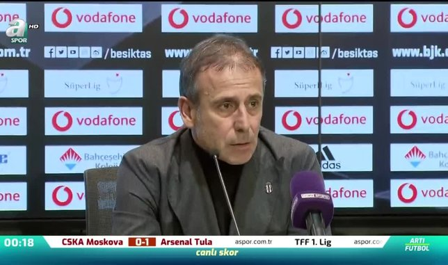 """Abdullah Avcı: """"Taraftarımıza sonsuz teşekkür ediyorum"""""""