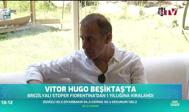 Vitor Hugo Beşiktaş'ta
